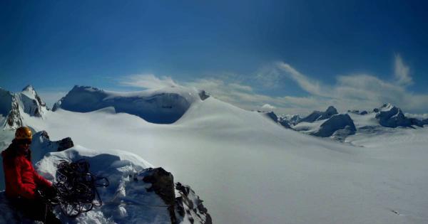 glacier climbing canada