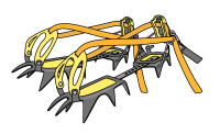 glacier travel crampons