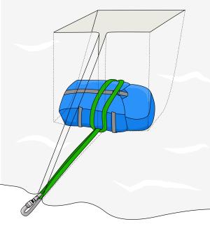 snow anchor belay crevasse rescue anchors