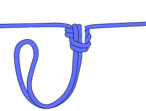 jamming knot for glaciers
