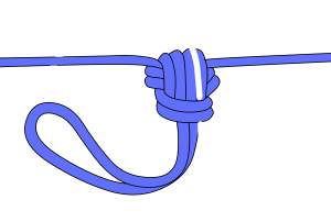 climbers knots for glaciers