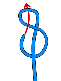 Figure of 8 knot how to tie into a climbing rope vdiff how to tie in to a climbing rope ccuart Images
