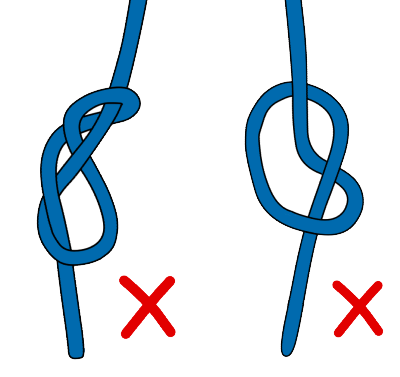 tie to a rope for rock climbing with a figure eight