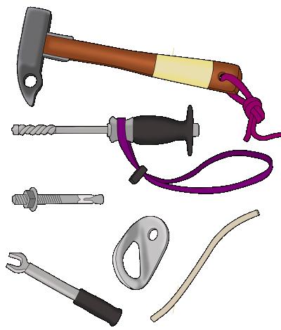 climbing bolt kit