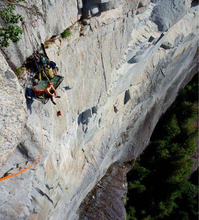 squamish chief aid climbing