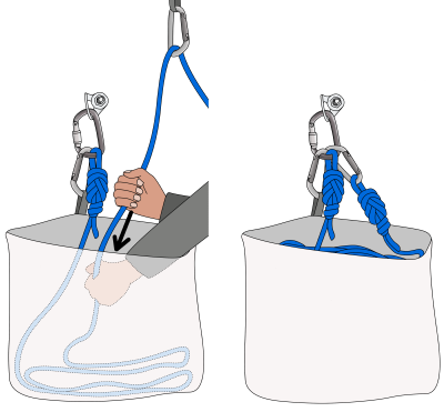climbing rope bags