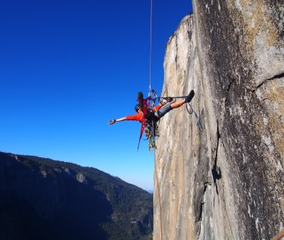 big wall climbing yosemite