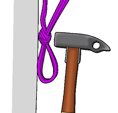 unfasten tight knot