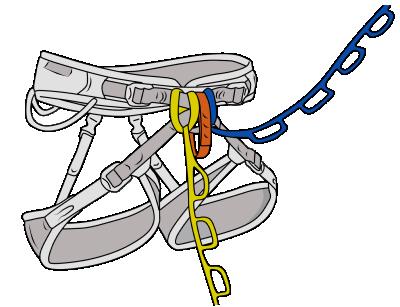 daisy chains aid climbing