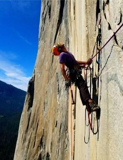 aid climbing el cap