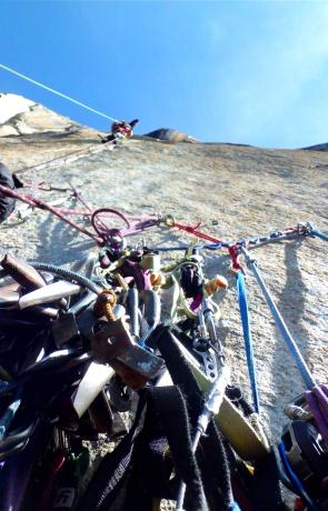 Aid climbing pitons