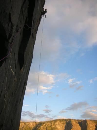 Continental Drift El Capitan aid climbing
