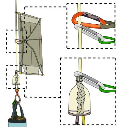 flagging a portaledge