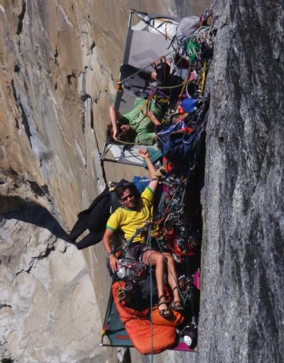 Climbing El Cap in Yosemite