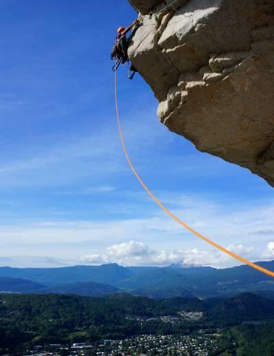 squamish aid climbing
