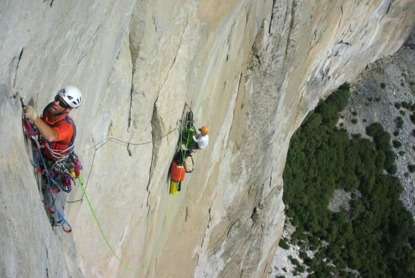 aid climbing in yosemite