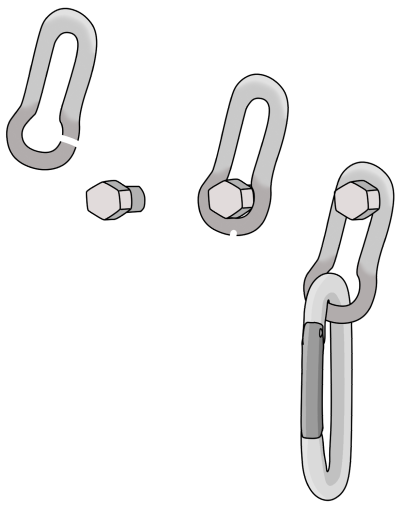 rivet hangers climbing
