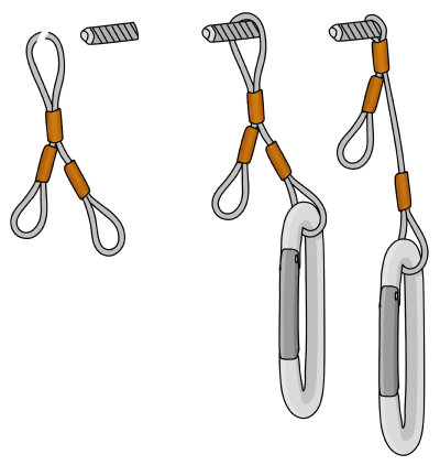 how to aid climb rivets