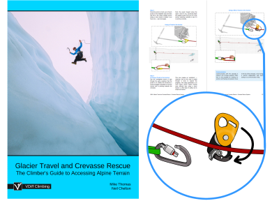 VDiff glacier travel crevasse rescue ebook