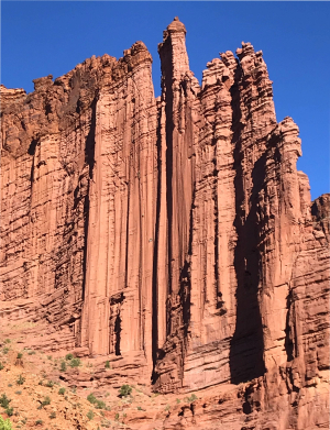 Fisher Towers aid routes