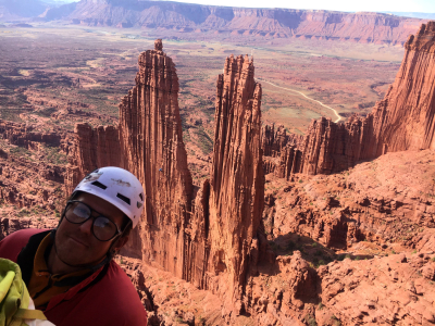 Fisher Towers rock climbing