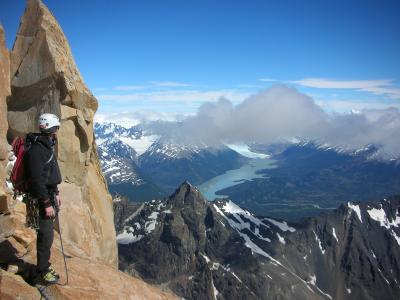 Big wall climbing Patagonia