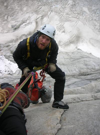 Climbing Patagonia torres del paine