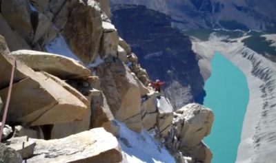 Climbing torres del paine Patagonia