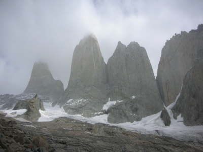 Big wall climbing Patagonia Torres del Paine