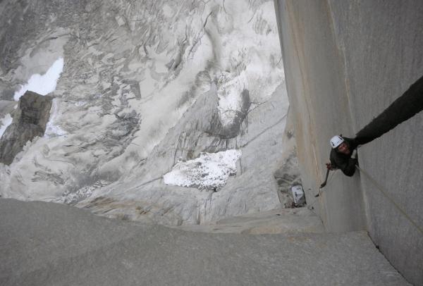 Patagonia big wall climbing