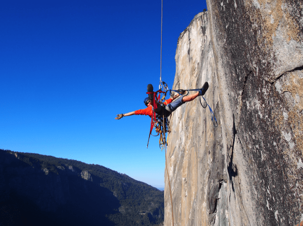 new dawn el cap yosemite aid climbing