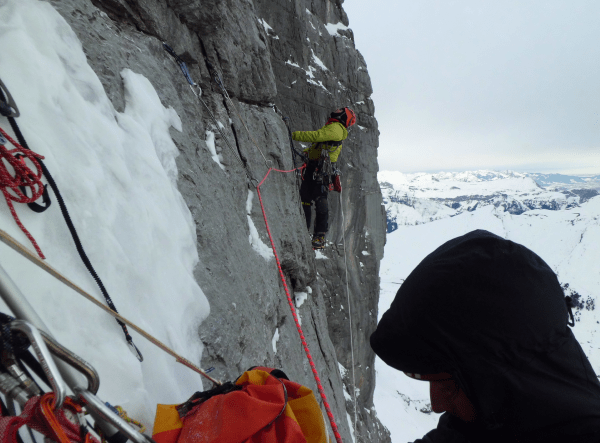 Eiger north face climbing Neil Chelton