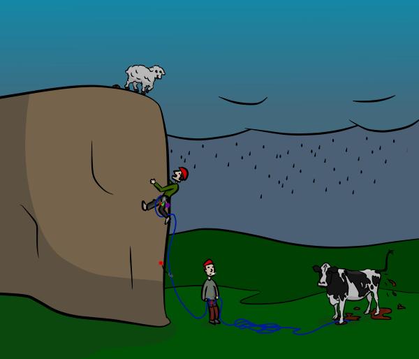 VDiff Climbing why i climb big rocks