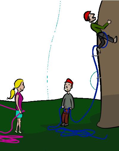 How to be a better belayer rock climbing