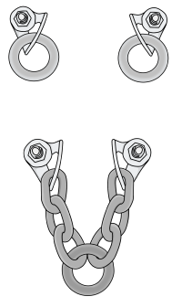 Types of climbing anchor