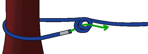 Double bowline climbing knot