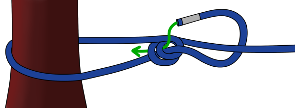 Double bowline climbing knot