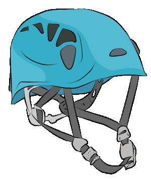 Sport climbing helmet