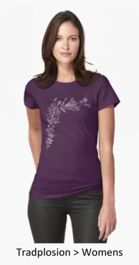 VDiff womens tradplosion t-shirt