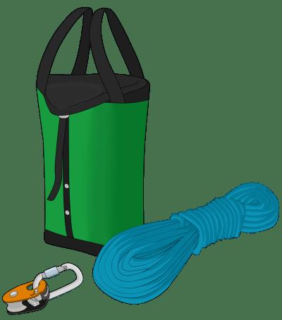 how to haul trad climbing