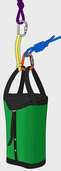 climbing haul bag