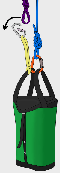 haul bag climbing
