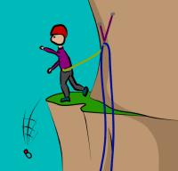 drop belay device climbing