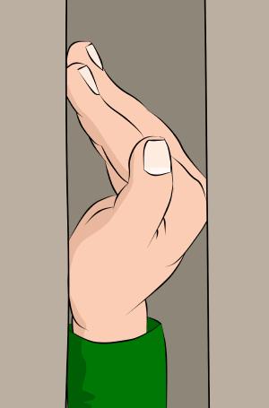 crack climbing hand jams