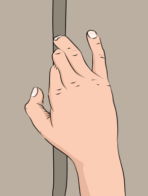 crack climbing finger locks