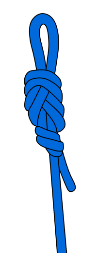 tie figure-8 on a bight