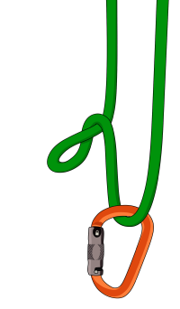 How to tie an italian hitch rock climbing