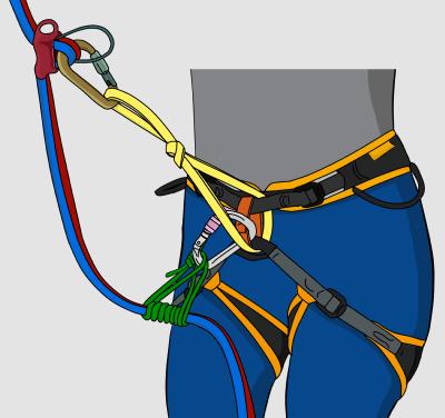 extend rappel device