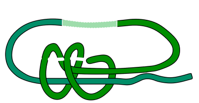 double fishermans prusik knot