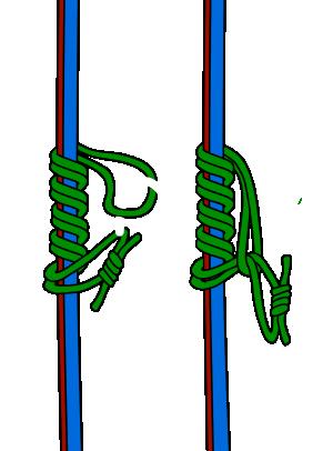 Klemheist prusik knot